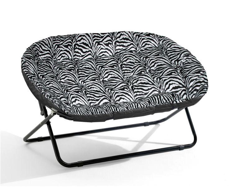 Features:  -Urban Shop collection.  -Pattern: Zebra royal plush.  -Saucer shape…