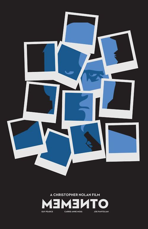 Minimalist movie posters -- Momento    Very cool!