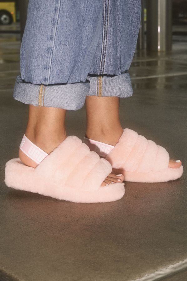 Ugg Fluff Yeah Slide Slipper Fluffy Shoes Shoes Fresh