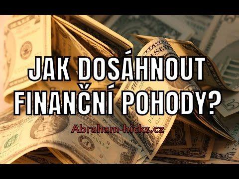 Abraham Hicks - Jak dosáhnout finanční pohody? - YouTube