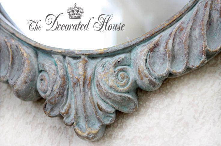 El decorado Casa ~ Crear un azul apenado Antiqued Finalizar hermosa con Annie Sloan Chalk Paint