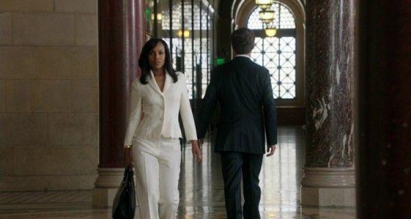Scandal season 4 premiere. Olivia Pope and President Grant III