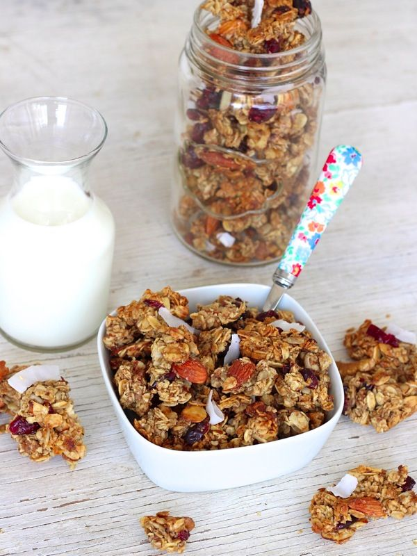 ... Healthy stuff on Pinterest | Granola, Granola bars and Healthy snacks