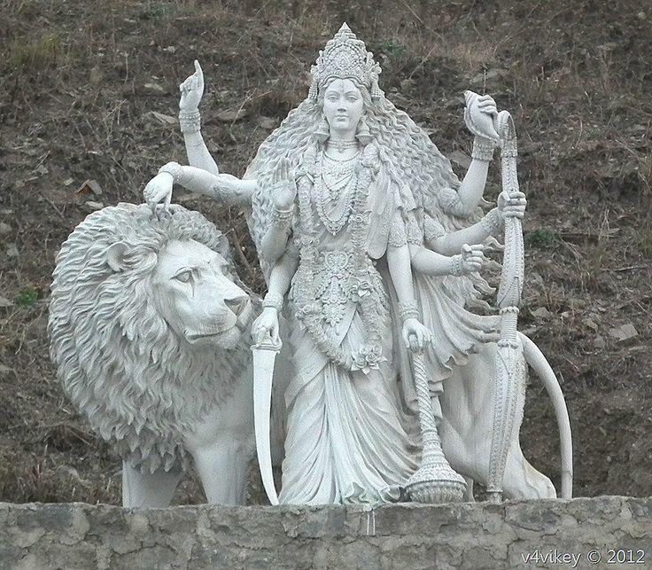 Sculpture- Hindu Goddess Durga