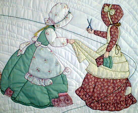 Bonnet Girls By Helen R Scott The Quot Friendly Quilters