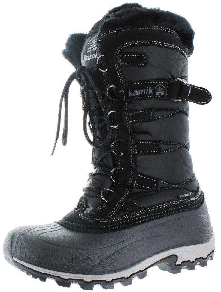 Kamik Snowvalley Womens Waterproof Nylon Snow Boots Products