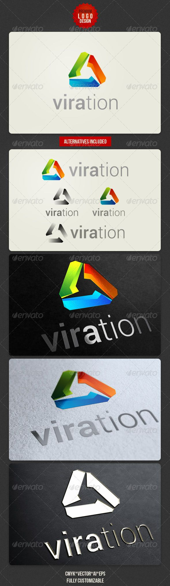 Viration Clean Logo Design  #GraphicRiver         Clean and technology vector logo template for your project.  	 CMYK , Adobe Illustrator AI file, EPS file, transparent PNG file.  	 Free font: Roboto –  .fontsquirrel /fonts/roboto  	 Enjoy      Created: 19June12 GraphicsFilesIncluded: TransparentPNG #VectorEPS #AIIllustrator Layered: Yes MinimumAdobeCSVersion: CS Resolution: Resizable Tags: brand #branding #business #clean #corporate #creative #design #designer #futuristic #identity #logo…