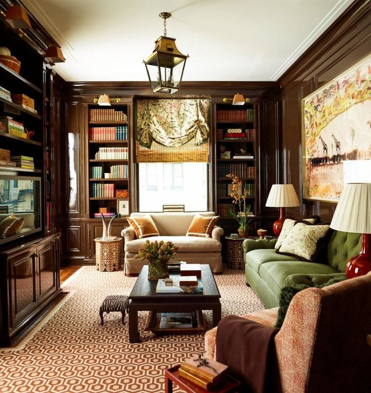 A Beautifully Designed Traditional Interior For This Park Avenue Duplex Interiors By Ashley Whittaker Design