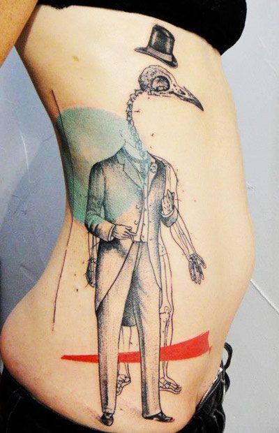Tattoo Artist - Xoil  Tattoo - figures tattoo | www.worldtattoogallery.com