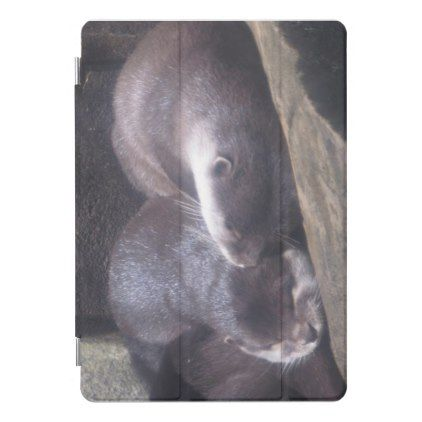 Sleeping Otters iPad Pro Cover - animal gift ideas animals and pets diy customize