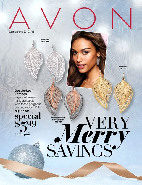 Shop these Avon sales in the Campaign 22, 2016 Very Merry Savings brochure October 6-19, 2016 with Beth Bailey at LipstickShoesAndMore.com