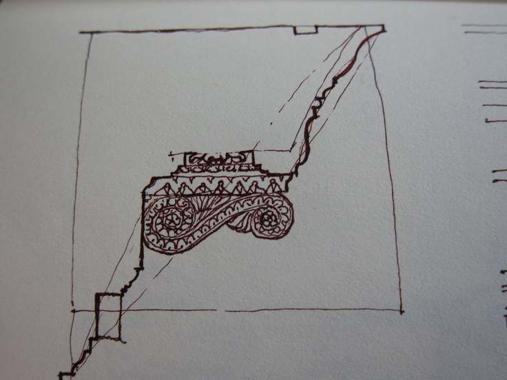 Sketch of a Composite cornice.