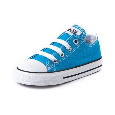 Toddler Converse All Star Lo Blue Danube Athletic Shoe
