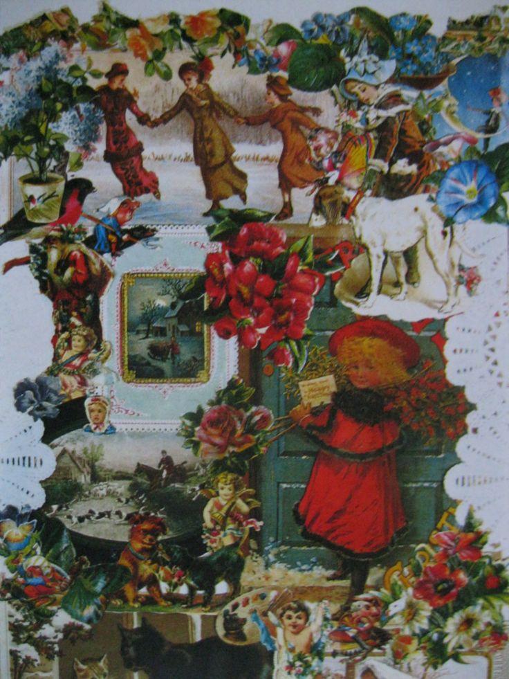 SALE!!! Vintage Christmas Postcard. 1980 Era by grandma62 on Etsy