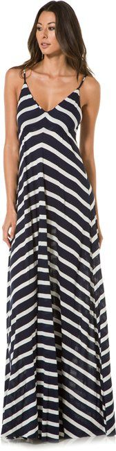 Eight Sixty Stripe Maxi Dress