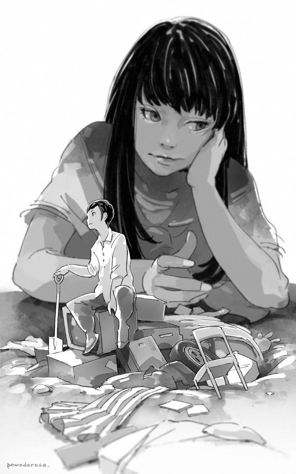 講談社ノベルス『りぽぐら!』西尾維新(著)挿絵 / C:実妹の犯行だ!http://bookclub.kodansha.co.jp/kodansha-novels/1401/nisioisin/