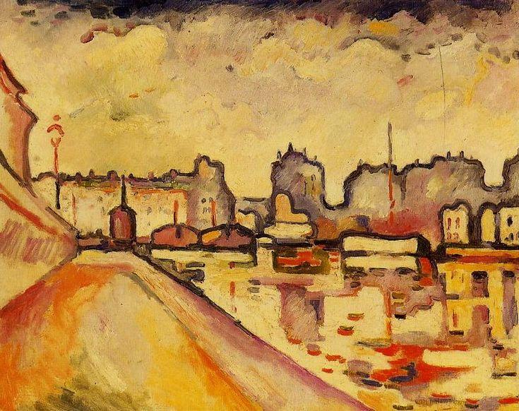 Georges Braque : Le canal Saint Martin