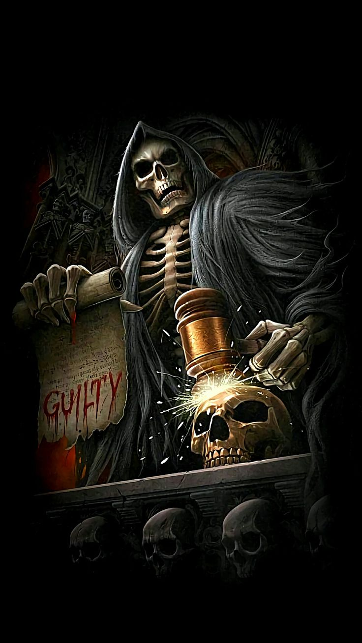 ~The Reaper Is Here To Take You Now † | ♠️ † The Grim ...