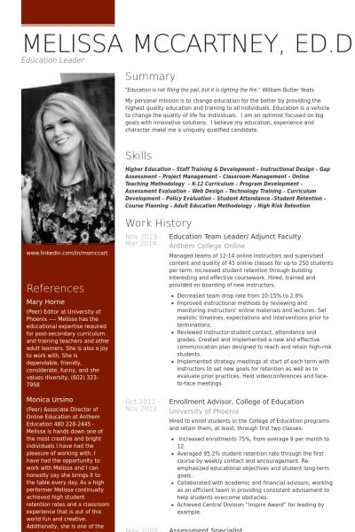 Instructional Design Resume 42 Best Resumes Images On Pinterest  Resume Creative Resume And