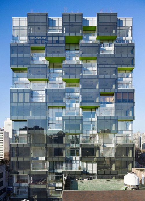 Gwell Tower in Seoul by Mass Studies