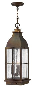 Show details for Hinkley Lighting 2042SN Outdoor Pendant  from the bingham collection