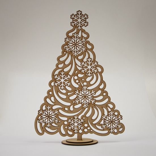 BUY this design -This beautiful wooden laser cut tree, is a LASER-ready-DESIGN. It can be use from interior decor, Christmas decor or center piece for a wedding table.  Download in different file formats EPS, DXF, SVG, PDF, CDR x4. see more trees
