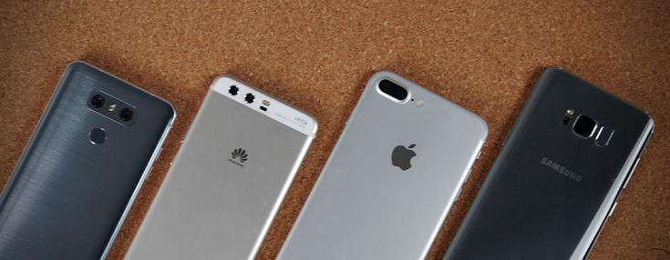 Sono i fantastici quattro, quelli che occupano le posizioni più alte nelle classifiche di vendita in fascia premium: abbiamo messo Apple iPhone 7 P...