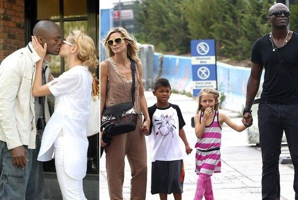 The Seal and Heidi Klum timeline. Thought they would always be together. #love