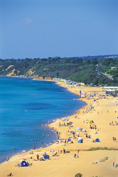 Mount Martha Beach, Mornington Peninsula, Victoria, Australia.