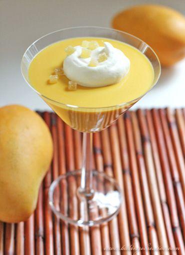 Mango Pudding    http://www.bakingobsession.com/2008/06/28/mango-pudding/