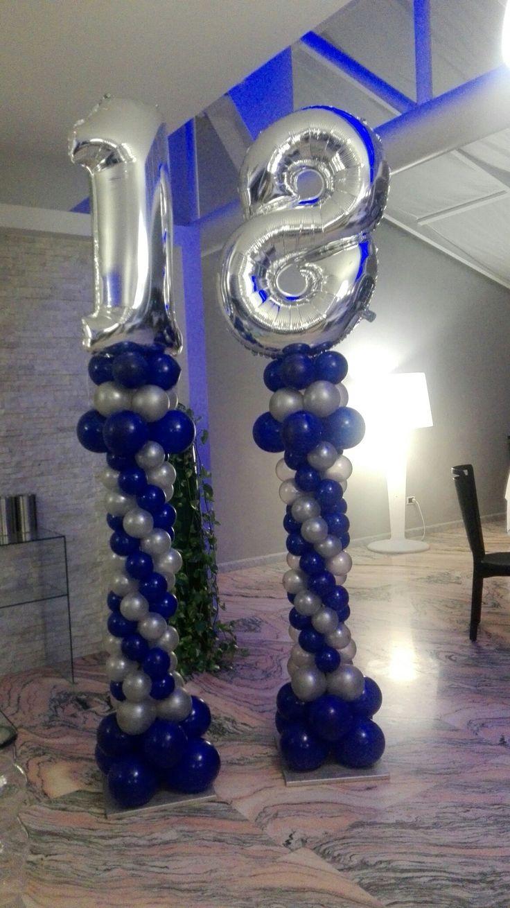 Oltre 25 fantastiche idee su decorazioni con palloncini su - Punto a punto per i bambini di 3 anni ...