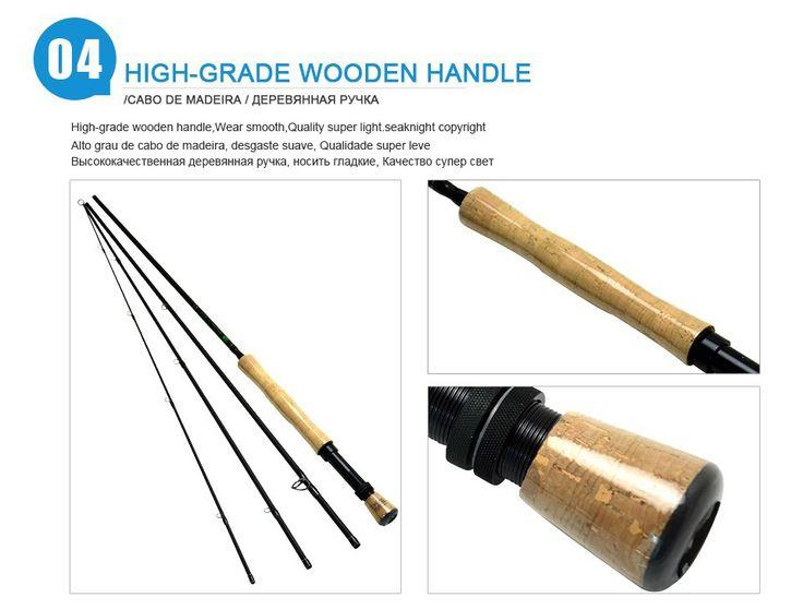 5/6# 2.7M 4 Segments Fly Fishing Rod