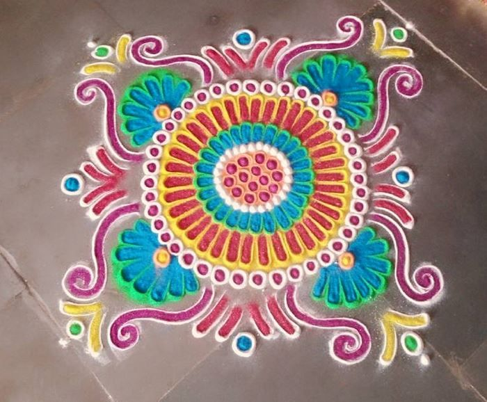 Beautiful Rangoli Designs for Home                                                                                                                                                                                 More