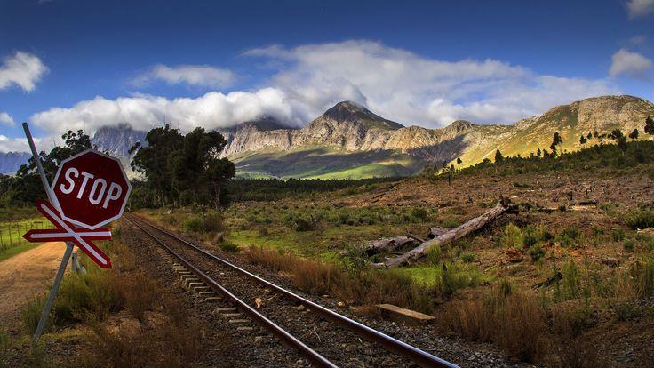 Railways crossing