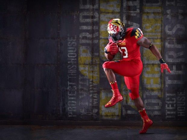 """Pin By Md Minhajul Mamun On Soccer Players: University Of Maryland Terrapins 2013 """"Red Pride"""" Football"""
