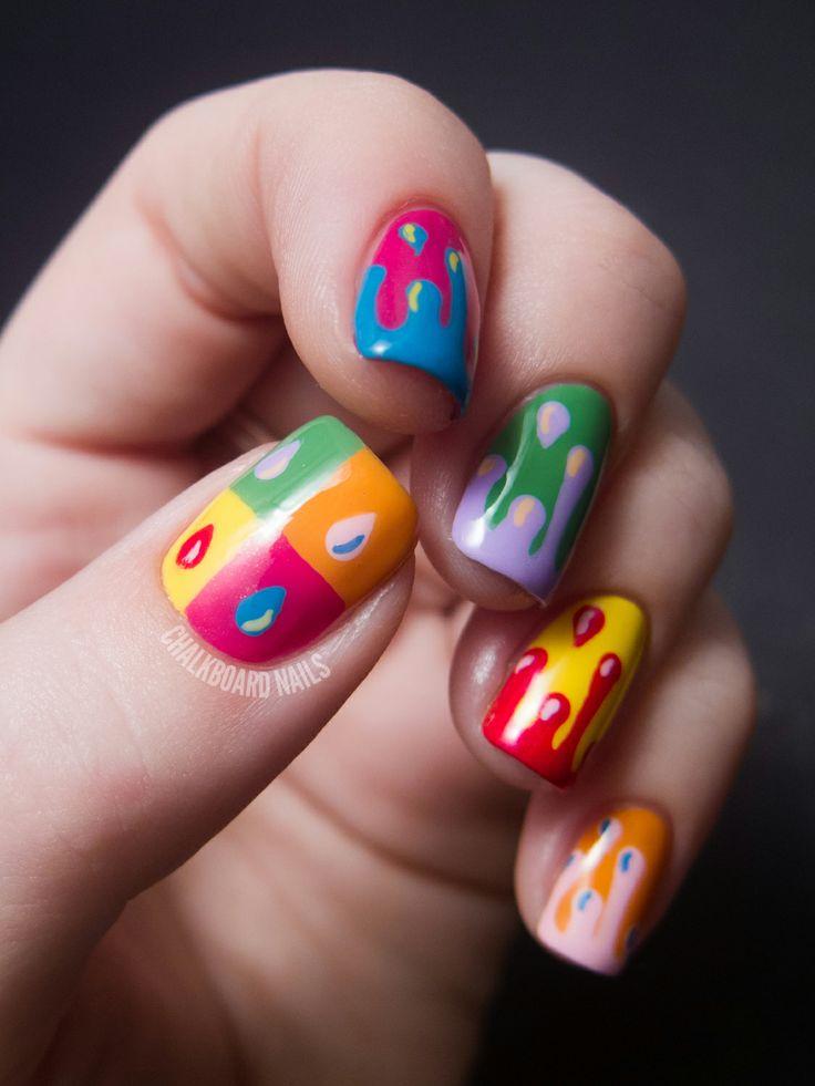 Best 25+ Chalkboard Nails Ideas On Pinterest