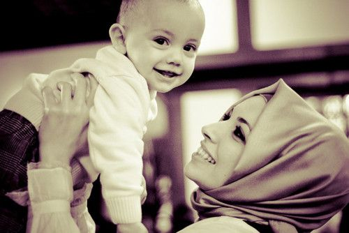 Slikovni rezultat za muslim mother and child tumblr