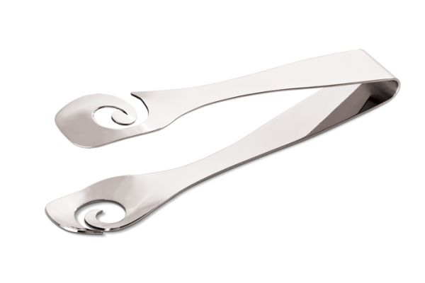 Carrol Boyes Ice Tongs - Stir it Up Stainless Steel. 2 per set. All products are designed to be discreetly branded.