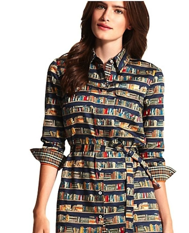 Book Shirtdress | 37 Ways To Proudly Wear Your Love Of Books