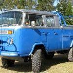 Kombi modificada para cabine dupla off-road campeã