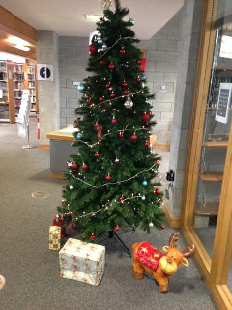 Christmas comes to WIT Libraries