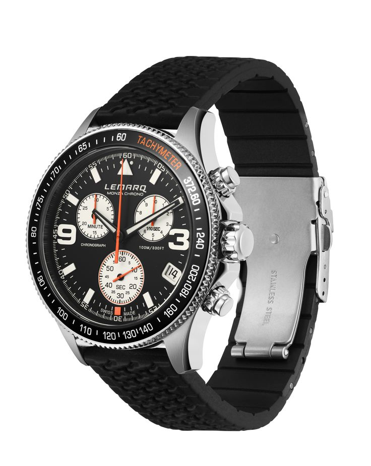 Only a few days left until the Formula 1 arrives in Monza. Did you know that the tachymeter on the LEMARQ Monza Chrono features the fastest speed ever recorded at this legendary track?  ► See more: www.lemarqwatches.com