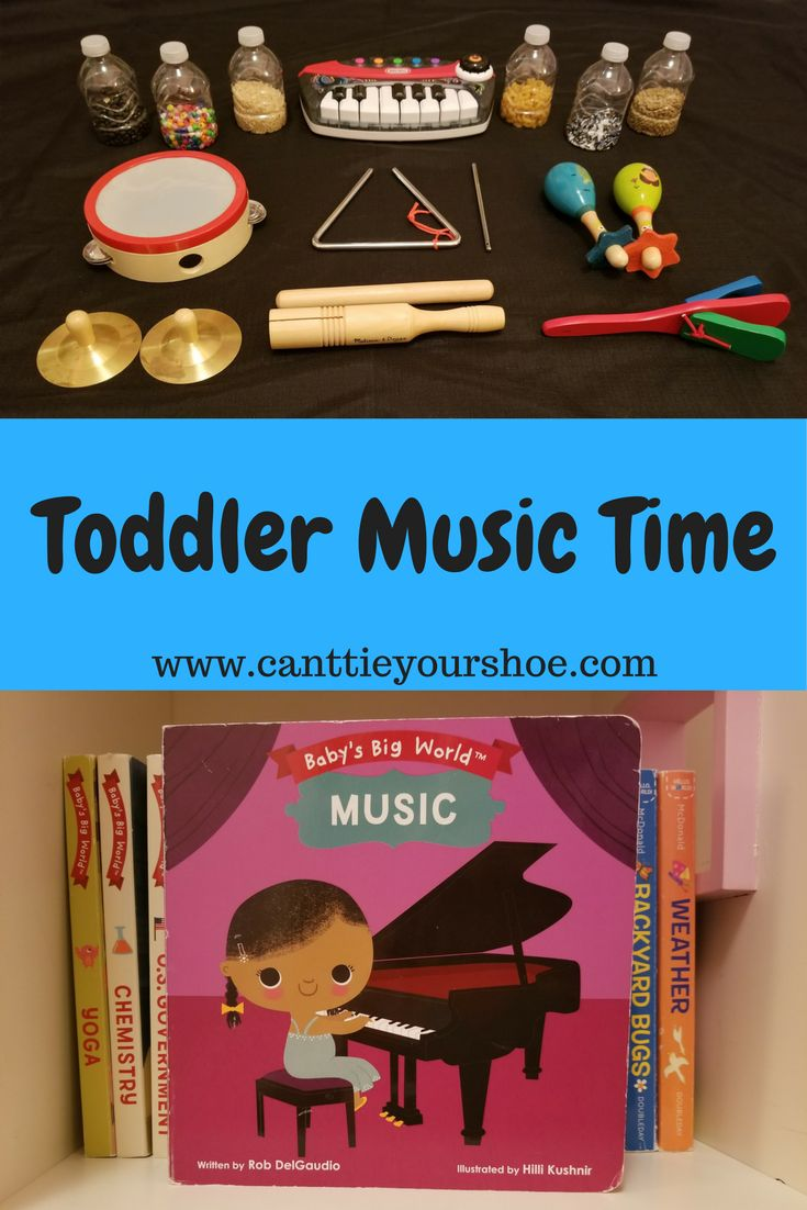 Great ideas for toddler music time including how to make shakers and more.