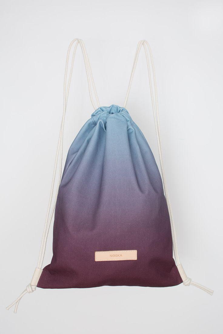 Moor | NOSKA SHOP | AutumnWinter2016  #product #noskashop #NOSKAMoor #Rucksack #handmadeinpoland #autumnwinter2016 #moor #heathland #drawstring #bagpack