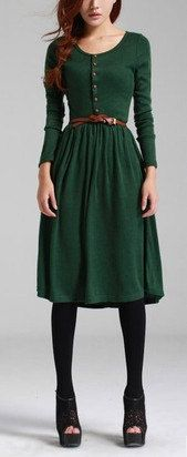 25  best ideas about Forest green dresses on Pinterest | Emerald ...