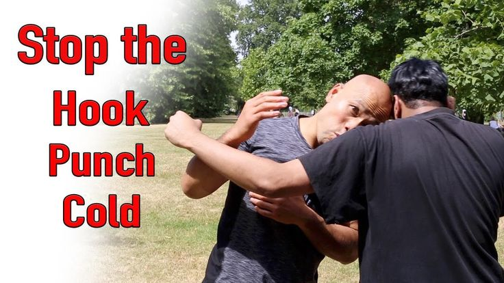 Stop the hook punch cold - wing chun street fight - YouTube