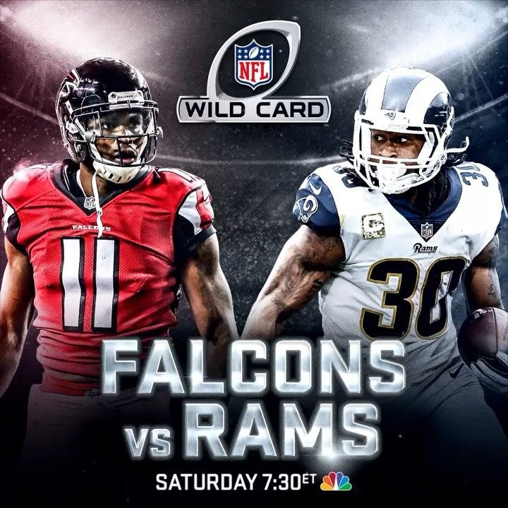 "2,343 Likes, 29 Comments - Sunday Night Football on NBC (@snfonnbc) on Instagram: ""The defending NFC champion @AtlantaFalcons travel to LA to take on the explosive @Rams in an NFL…"""