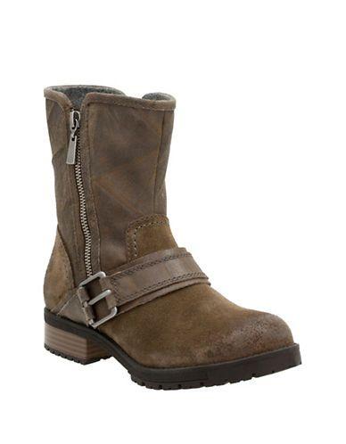 Chaussures | Bottes militaires et de moto | CushionSoft Faralyn Rise Collection Nubuck and Suede Boots | La Baie D'Hudson