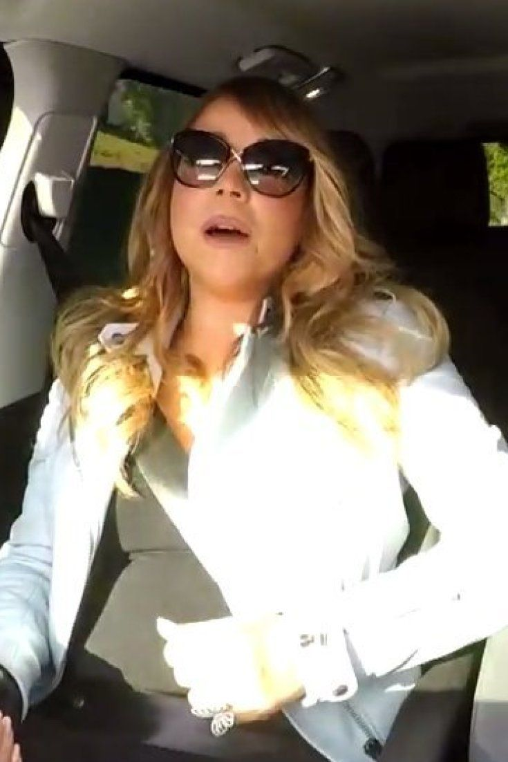 Mariah Carey Casually Sings Along To Her Greatest Hits With James Corden