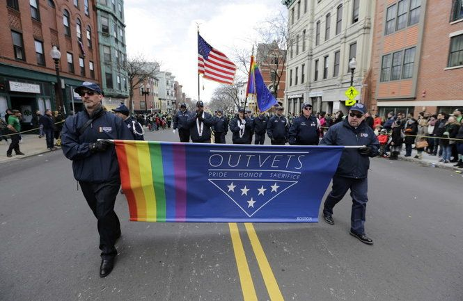 Corporate sponsors and political leaders condemned the decision. #discrimination #rights #freedom #parade #boston #stpatricks #sucks
